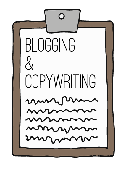 Blogging and copywiting